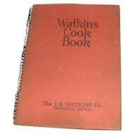 Vintage 1936 Watkins Cook Book