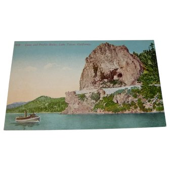 Vintage Postcard Lake Tahoe, California