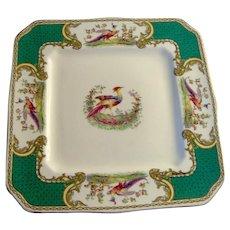 Vintage Chelsea Bird plate by Myott