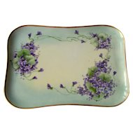 Vintage Limoges France Dresser Tray