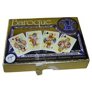 Vintage Baroque Piatnik Playing Cards