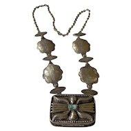 Vintage 1973 Estee Lauder Solid Perfume Necklace