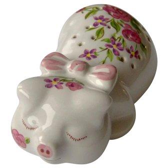 Vintage Floral Pig Pomander