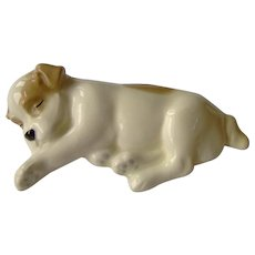 Vintage Sleeping Dog figurine