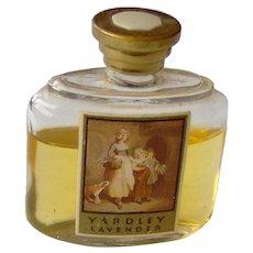Vintage Yardley Perfume Bottle