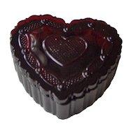 Avon Cape Cod Heart Trinket Box