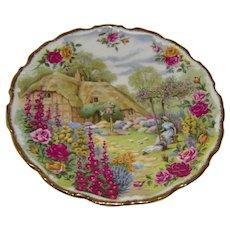 Royal Albert Plate Tranquil Garden