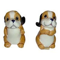 Adorable Dog Salt and Pepper Shakers