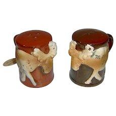 Vintage Moose salt and pepper shakers