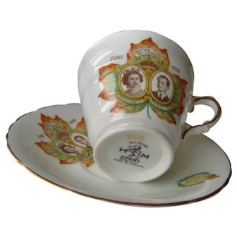 Vintage Royalty Cup and Saucer