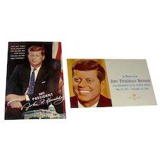 Postcards of John F Kennedy