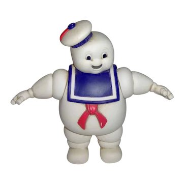 1984 Stay Puft Mashmallow Man Toy