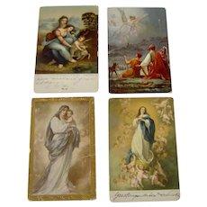 Assortment of Religious Postcards