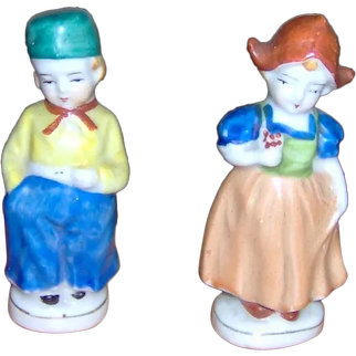 Vintage Dutch Boy and Girl Figurines