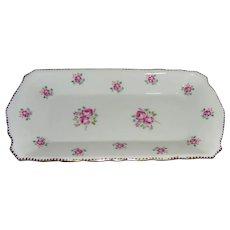Royal Stafford Tudor Rose Sandwich Plate