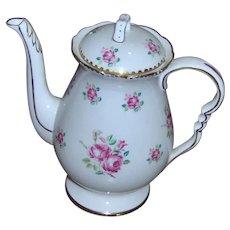 Royal Stafford Tudor Rose Small Coffee Pot