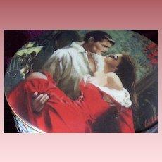 Gone-With-The-Wind Scarlett & Rhett Musicbox - 1992 Original Issue