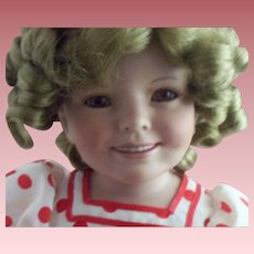 """Doll Artist Susan Ann Wakeen's Shirley Temple """"Stand Up & Cheer"""" Porcelain Doll"""