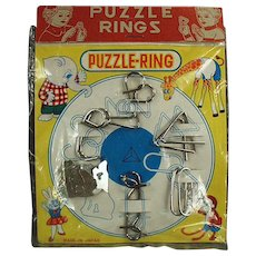 Vintage Dexterity Puzzle Games with Original Packaging - Perfect Christmas Stocking Stuffer