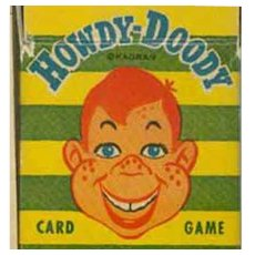 Vintage Howdy Dowdy Card Game with Original Box