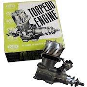 Vintage Torpedo 40RC - Front Rotor, Gas Powered Engine & Perry Carburetor