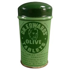 Vintage Laxative Tin - Dr. Edwards Laxatives