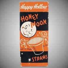 Vintage Paper Straws - Box of Honeymoon 100