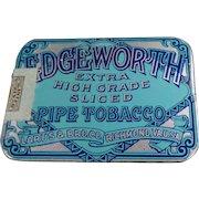Vintage Tobacco Tin - Edgeworth Sliced Pipe Tobacco - Pocket Tin - Very Nice Condition