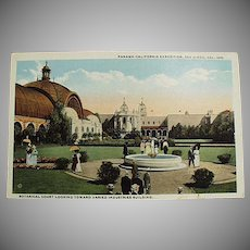 Vintage Postcard - 1915 Panama-California Expo Botanical Court