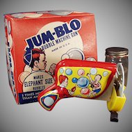 Vintage Bubble Blowing Machine - Jum-Blo Bubble Machine Gun with Original Box