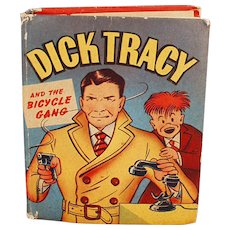 Vintage Dick Tracy Book - Better Little Book  No. 1424