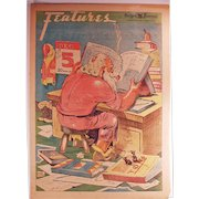 Vintage Oregon Journal Portland Newspaper - 1937 Christmas Edition with Santa Claus