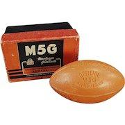 Vintage Football Soap Bar - Intercollegiate Football with Original Box