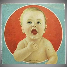 Vintage Vanta Baby Advertising Clothes Box - Vanta Baby Garments