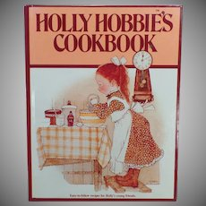 Vintage Holly Hobbie's Cookbook – Hardbound Recipe Book for Children