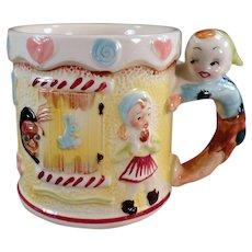 Child's Vintage Nursery Rhyme Cup - Milk Mug with Hansel & Gretel