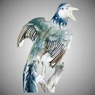 Vintage Bochmann Figurine - Exotic Bird - West German - Beautiful Decorator Accent Piece