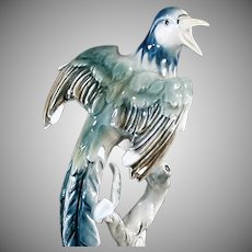 Vintage Bochmann Figurine - Exotic Bird - West German - Beautiful Decorator Accent Piece