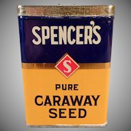 Vintage Spice Tin – Spencer's Spice Tin David Spencer Ltd. of Vancouver