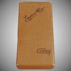 Vintage Perfume Box - Corday Toujours Moi Perfume Box