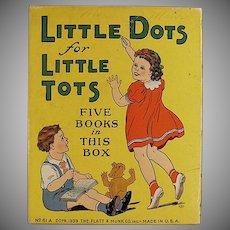 Vintage Platt & Munk Little Dots for Little Tots Box
