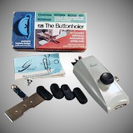 Vintage Greist Button Hole Attachment - Model 7 Buttonholer
