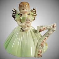 Vintage Josef Original Birthday Angel - Age Seven