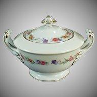 Vintage Occupied Japan Sango China - Covered Sugar Bowl - O.J. Dinnerware
