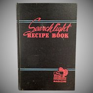 Vintage Cookbook - Household Searchlight Recipe Book - 1944 - 17th Edition