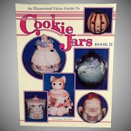 Old Reference Book - Value Guide Cookie Jars - Book II - Ermagene Westfall - Soft Cover