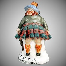 Vintage Schafer and Vater Whimsey - Mind Your Own Business Scotsman