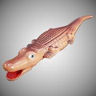 Vintage Celluloid Tape Measure - Old Alligator Tape Measure - Made in Japan