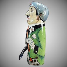 Vintage Friction Tin Toy - Old Sparking Toy from Germany