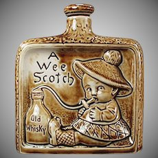Vintage Schafer and Vater - A Wee Scotch Old Porcelain Nip